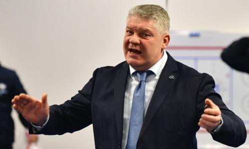 «Барыс» официально определился с кандидатурой главного тренера
