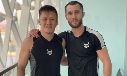 Жумагулов будет находиться в углу Морозова во время его второго боя в UFC