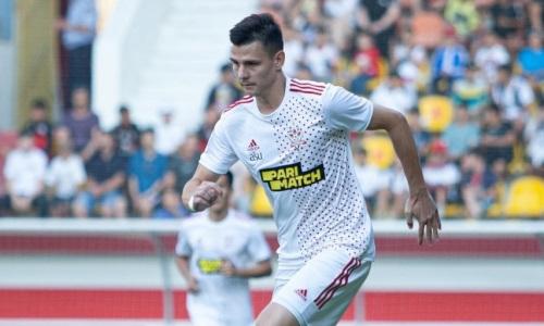 Российский футболист официально покинул «Актобе»