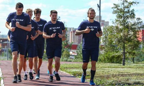 Игроки сборной Казахстана приступили к УТС в составе нового клуба