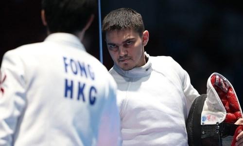 Казахстанский фехтовальщик рассказал о ходе подготовки к Олимпийским играм-2020