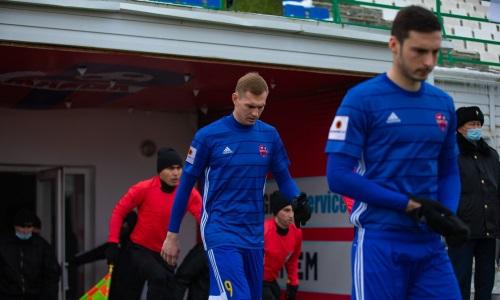 Клуб КПЛ объявил о расставании с российским форвардом