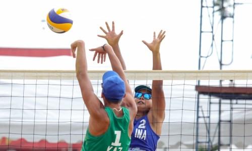 Казахстанцы завершили выступление на молодежном чемпионате Азии по пляжному волейболу