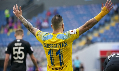 Тигран Барсегян покидает «Астану». Известен его новый клуб