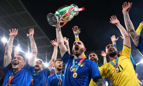 Стало известно, сколько заработали Италия и Англия за свое участие в ЕВРО-2020