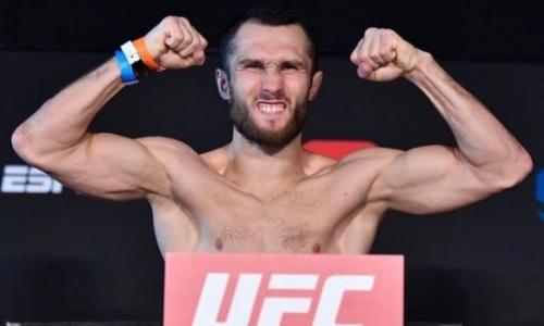 Опубликован полный кард турнира UFC c боем Сергея Морозова