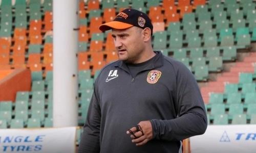 Наставник «Шахтера» отсутствует на тренерской скамейке матча Кубка Казахстана с «Кызыл-Жаром СК»