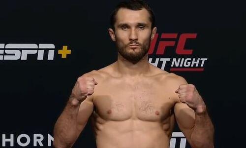 Сергей Морозов сделал вес перед вторым боем в UFC. Видео