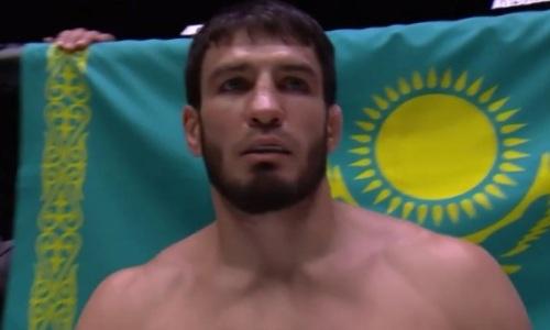 Казахстанский файтер нокаутом проиграл россиянину бой за титул чемпиона АСА
