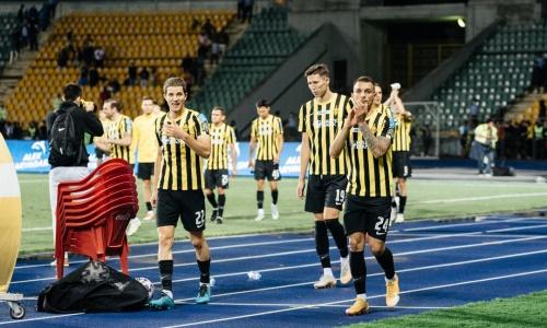 Опубликована заявка «Кайрата» на матчи против «Црвены Звезды» в Лиге Чемпионов