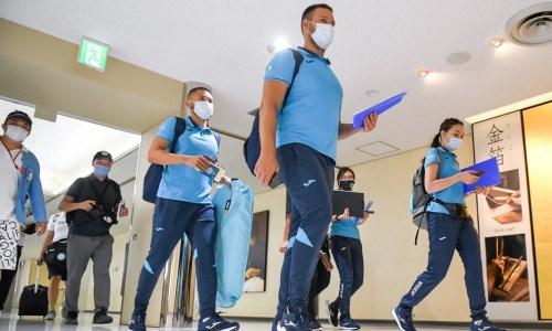 В Японию прибыла первая часть казахстанской олимпийской делегации