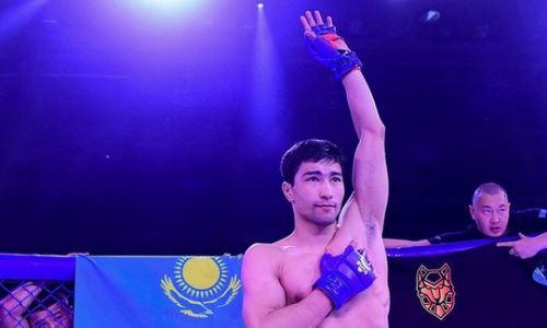 «Хотите шоу — я вам покажу шоу». Казахстанский боец после своего дебюта обратился к президенту AMC Fight Nights