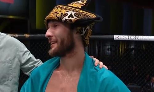 «Казахстан, let's go!». Сергей Морозов прокомментировал свою первую победу в UFC