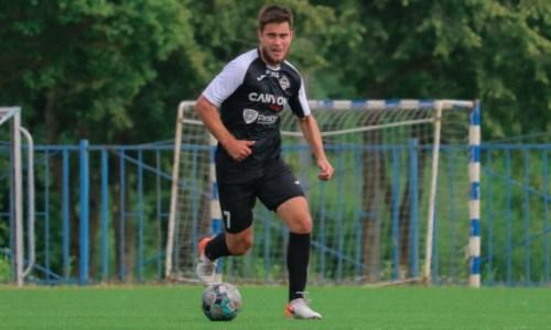 Бывший футболист клубов КПЛ возобновил карьеру в третьем дивизионе Беларуси