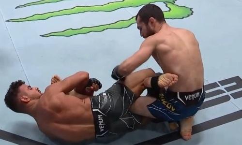 Сергей Морозов установил новый рекорд UFC для казахстанцев