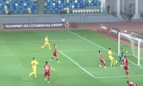 Видеообзор матча Кубка Казахстана «Туран» — «Жетысу» 0:2