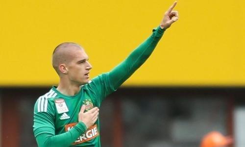 Бывший футболист «Астаны» помог своему клубу разгромить соперника в Кубке Австрии. Видео