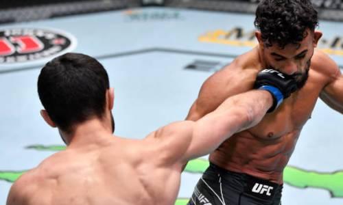 «Многие поклонники переживали за его судьбу». Комментатор «Матч ТВ» поздравил Казахстан с доминирующей победой Сергея Морозова в UFC