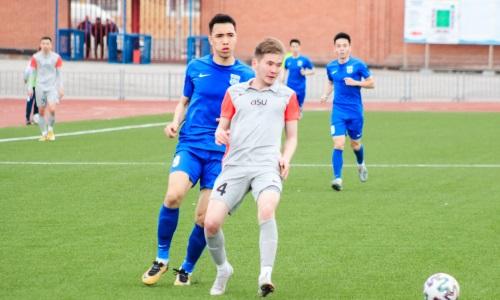 «Экибастуз» и «Аксу» забили четыре гола на двоих в матче Первой лиги