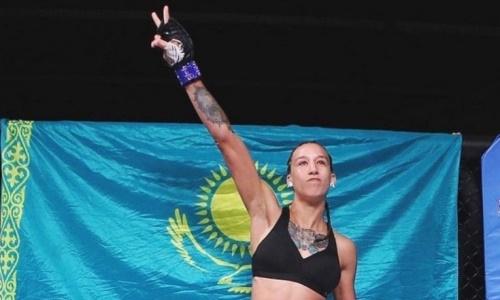 «Она сама под чем-то». Казахстанка из UFC ответила обвинившей ее в наркомании файтерше