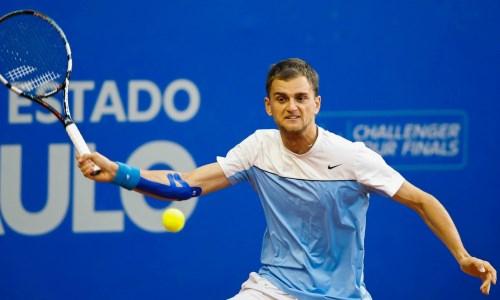 Казахстанский теннисист не смог пробиться в четвертьфинал парного разряда турнира ATP в Гштааде