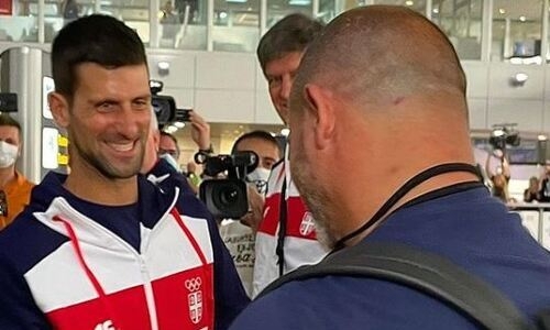 Лучший теннисист мира обратился к «Црвене Звезде» перед встречей с «Кайратом» в Лиге Чемпионов. Фото