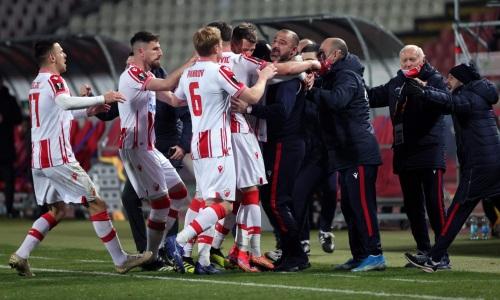 Перед встречей с «Кайратом» «Црвена Звезда» имеет серию без проигрышей из 48 матчей