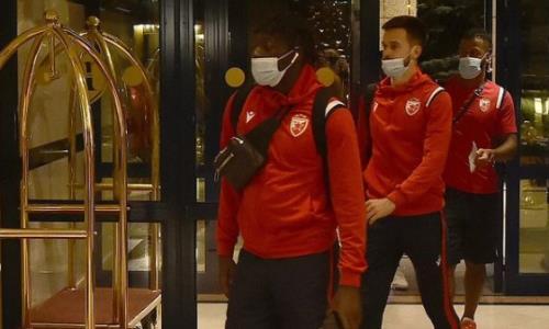 «Црвена Звезда» прибыла в Казахстан на матч с «Кайратом» в Лиге Чемпионов. Фото