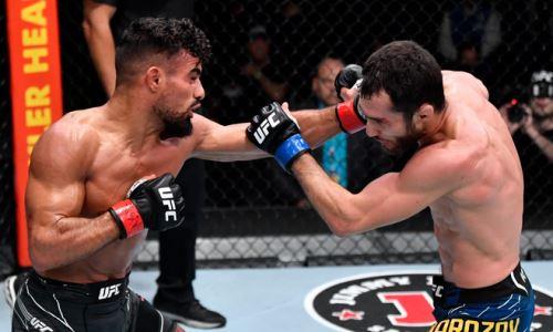 Сергей Морозов «дисквалифицировал» своего соперника по второму бою в UFC