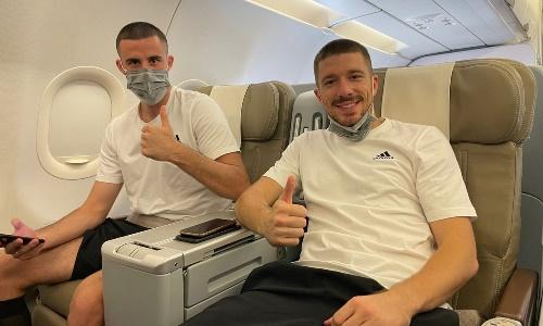 «Тобол» отправился в Хорватию на матч Лиги Конференций. Фото