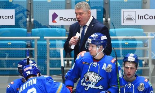 «Значительно ослаб». Озвучены перспективы Юрия Михайлиса в «Барысе» в КХЛ-2021/2022