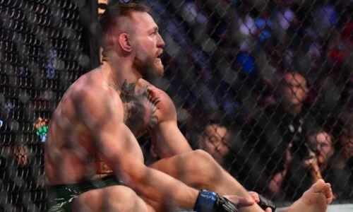 UFC раскрыл сроки возвращения Макгрегора после перелома в бою с Порье