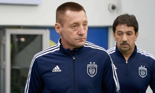 «Нам достался один из самых сильнейших соперников». Тихонов высказался о предстоящем матче «Астаны» в Лиге Конференций
