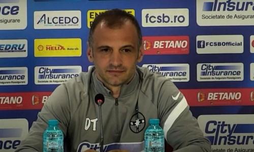 «Мы фавориты и хотим в группу». Тренер ФКСБ высказался о матче против «Шахтера» в Лиге Конференций