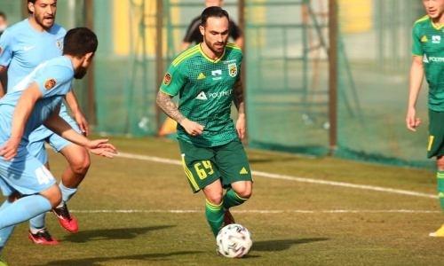 Легионер «Тобола» прекратил сотрудничество с клубом
