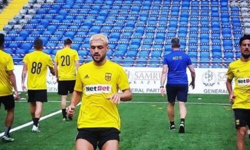 «Арис» показал свою тренировку перед матчем с «Астаной» в Лиге Конференций. Фото