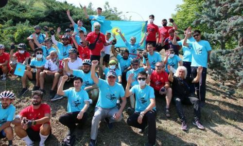 В Анкаре состоялся «Казахстанско-Турецкий велозабег Дружбы»