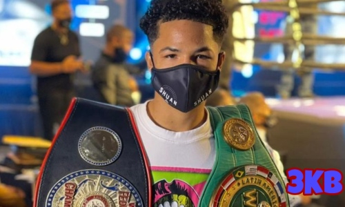 Доминиканский мини-Пакьяо побил «короля мешочной диеты» и взял титул WBA. Видео