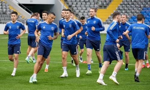 «Астана» назвала стартовый состав на домашний матч против «Ариса»