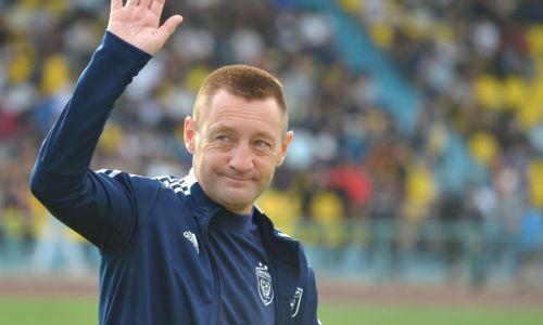 Тихонов подвел итог победного матча с «Арисом» в Лиге Конференций