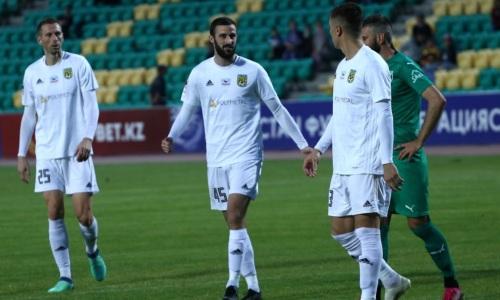 Закончился первый тайм матча «Хайдук» — «Тобол» в Лиге Конференций