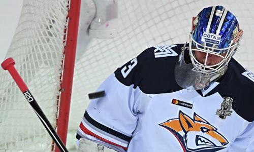 Одноклубник хоккеистов сборной Казахстана представил шлем на новый сезон КХЛ