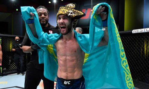 Сергей Морозов представил создателя своего колпака для UFC. Это казах из США