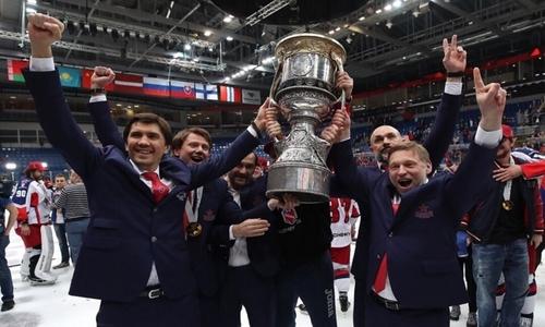 Казахстанский тренер с Кубком Гагарина узнал свое место в ТОП-5 самых побеждающих наставников КХЛ