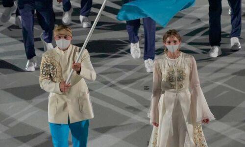 Мир восхищен красотой казахстанского знаменосца на открытии Олимпиады-2020. Фото