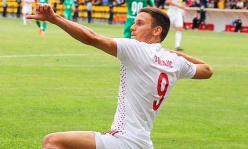 Дубайич после ухода из «Актобе» нашел себе новую команду
