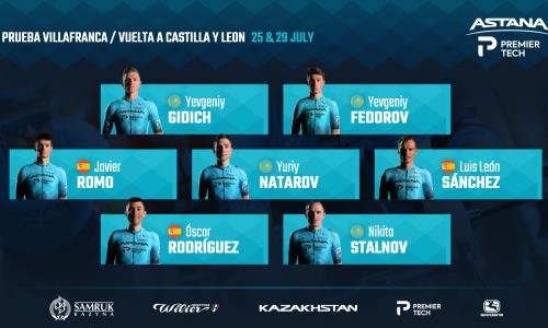 «Астана» объявила состав команды на две испанские «однодневки»
