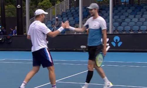 Теннисисты Бублик и Голубев проиграли французам на старте парного турнира Олимпиады-2020