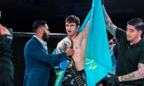 Казахстанский чемпион в нереальной форме подходит к битве за путевку в UFC. Фото