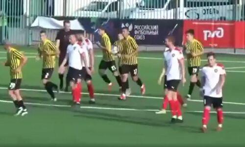 Появилось видео голов первого домашнего матча «Кайрат-Москва» в чемпионате России